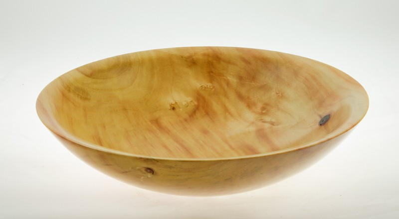 Wood salad bowl Manitoba Maple #553