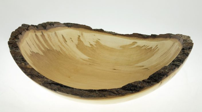 Wood bowl - #676-Maple 12 x 10.5 x 2.5in.
