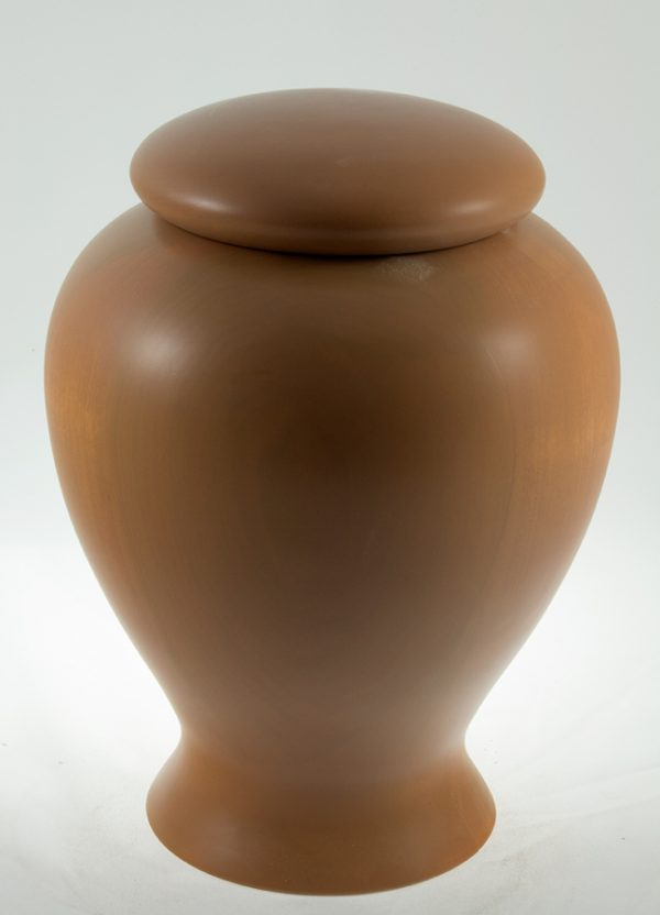 wood cremation urn - #60-Aspen 7.75 x 10.5in.