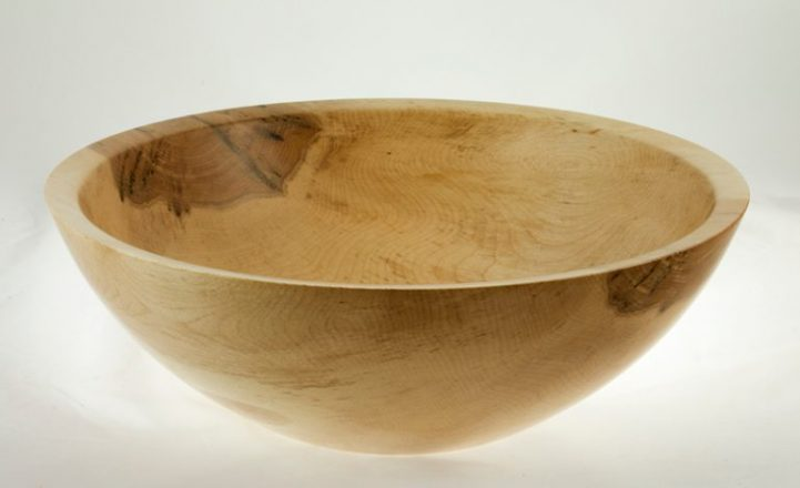 Wooden salad bowl Maple #625