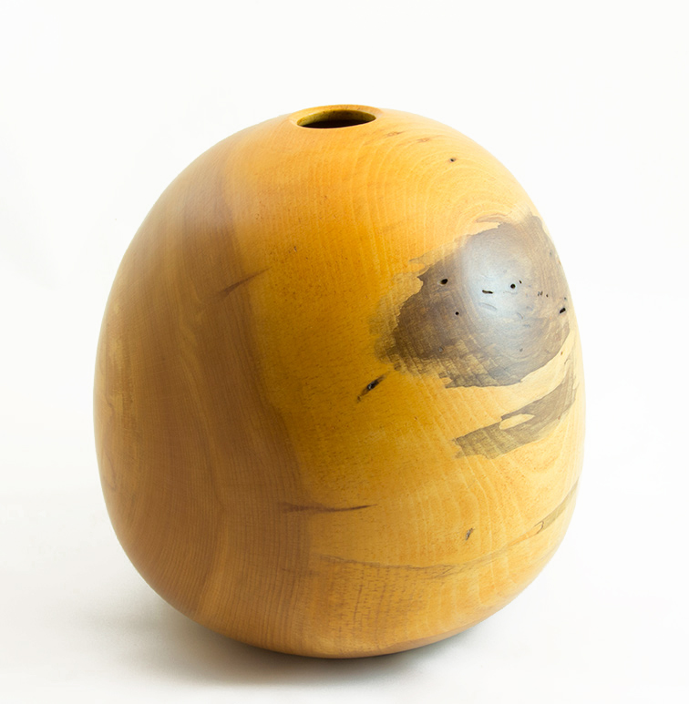 Decorative Wood Vase Spalted Beech