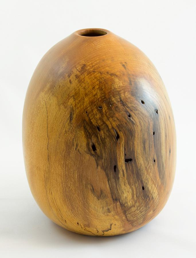 Wood Vase Spalted Beech