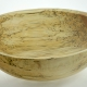 Wooden salad bowl Spalted White Birch #769