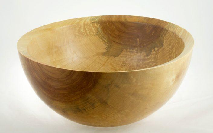 Wooden salad bowl White Birch #723