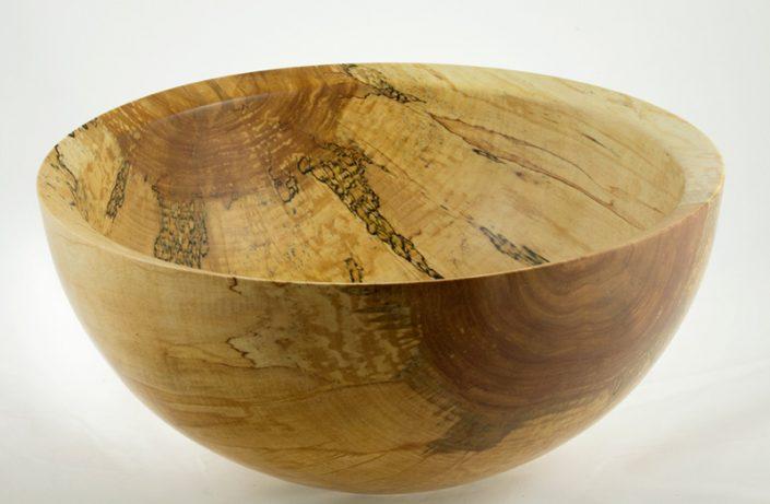 Wooden salad bowl White Birch #724