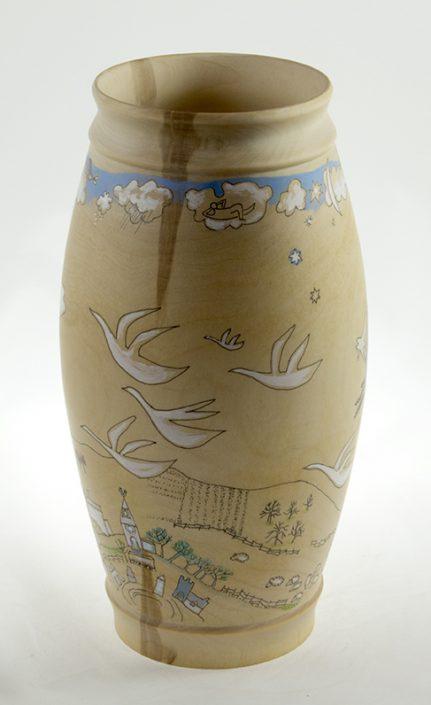 Vase White Birch