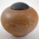 Wood cremation urn - #119-Oak 7 x 10in.