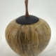 Wood cremation urn - #129-Spalted Maple 7.5 x 9.25in.