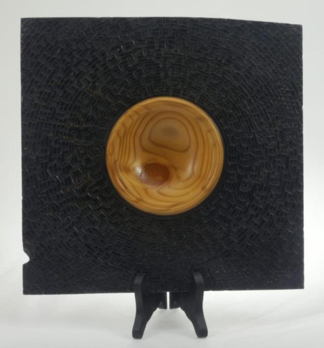 Wooden bowl Tamarack #641b