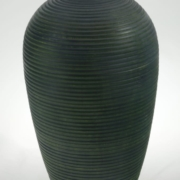 Wood Vase White Birch Colored - 680- 6x10in.