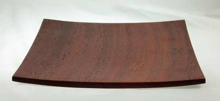 Wooden platePadauk #742-11 x 1in.