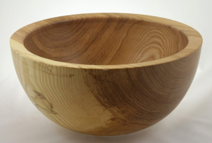 Wooden salad bowl Ash #897-13 x 6.25in.